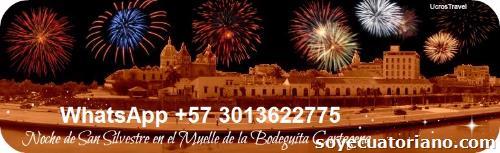 Fiesta Fin de Año Cartagena Colombia 2019 Cena San  Silvestre 2019  Happy New Year 2020       31 diciembre 2019